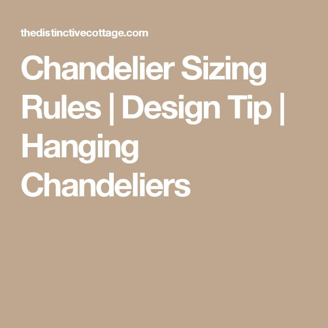 153 best lighting images on pinterest chandeliers light fixtures chandelier sizing rules mozeypictures Images