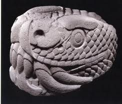 Quetzalcoatl, translation: feathered snake. Lord of life, enlightment, wisdom, knowledge, the winds and daylight.