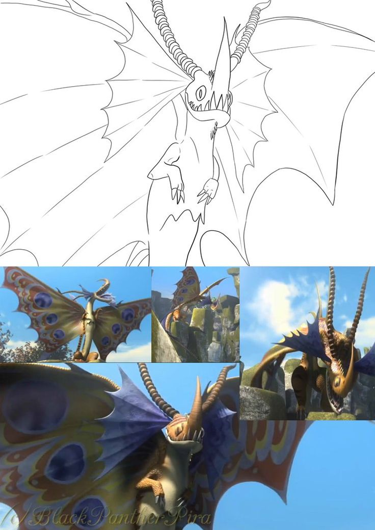 Death Song the Siren Dragon from Dreamworks Dragons Race