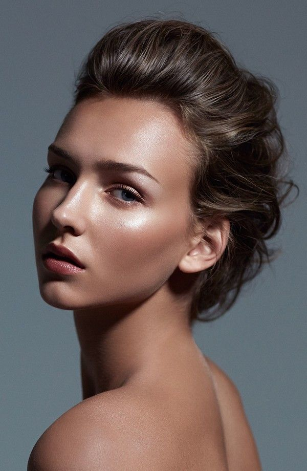 how to create a dewy look