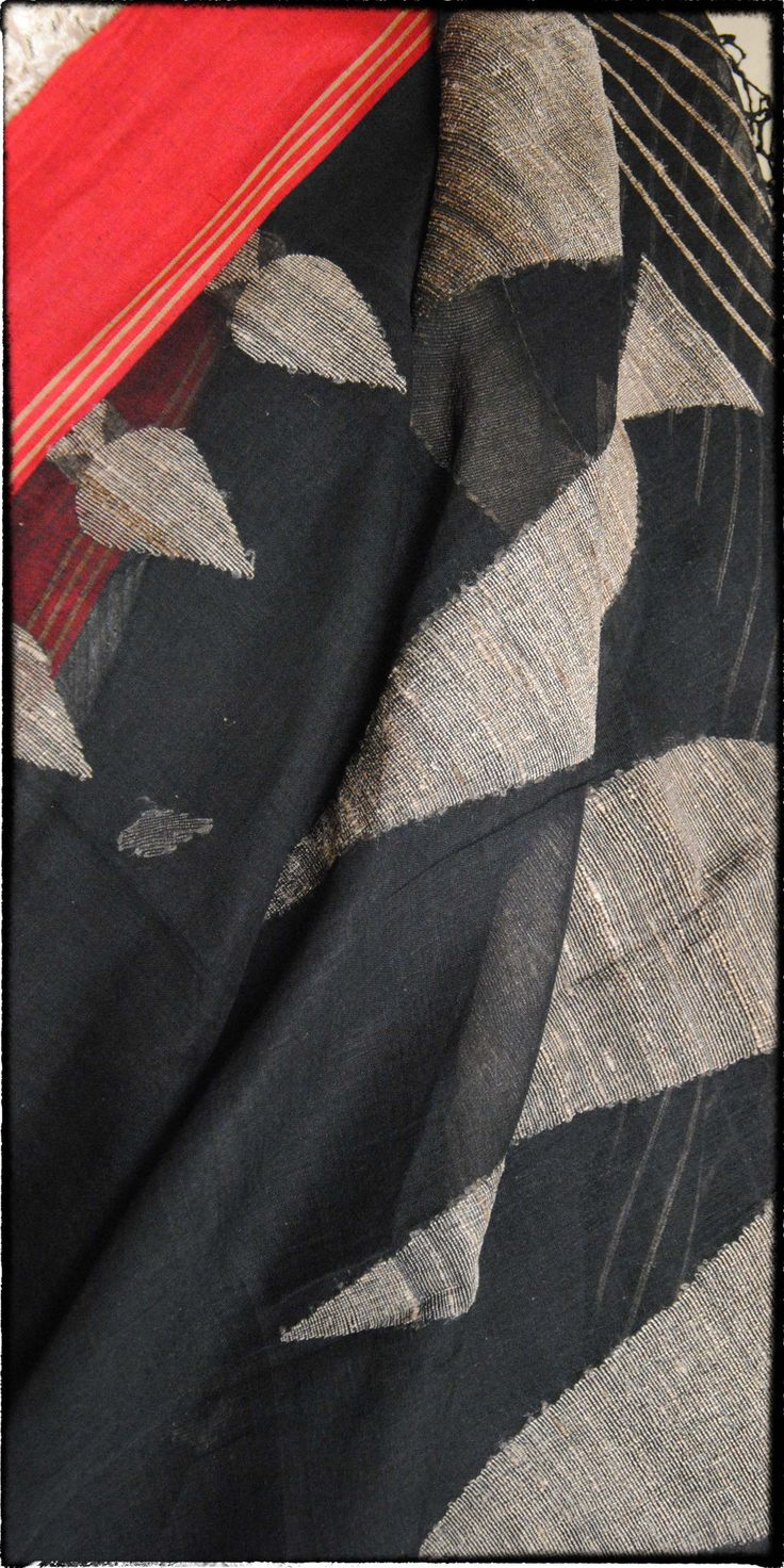 n58 Old Bengal Hand Woven Soft Cotton Sari