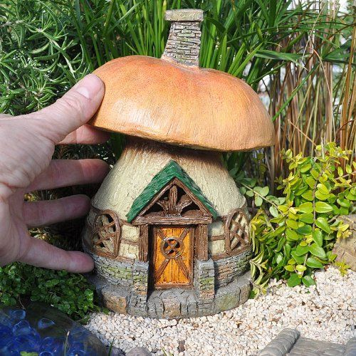 Miniature Fairy Garden Mushroom Cottage