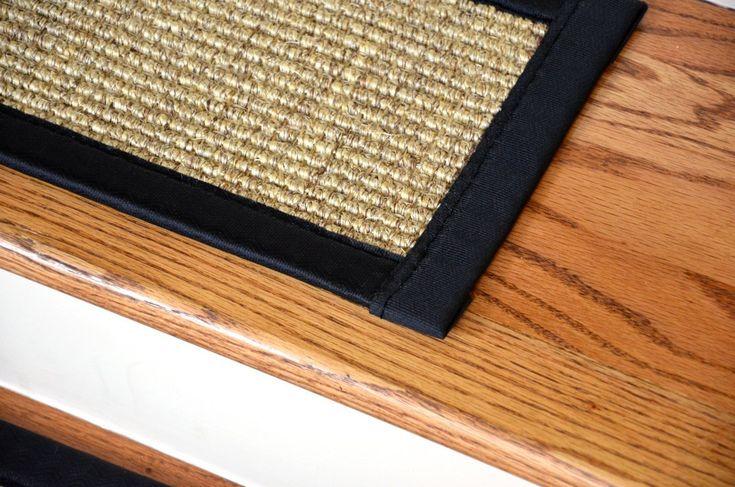 Best Dean Attachable Non Skid Sisal Carpet Stair Treads 640 x 480