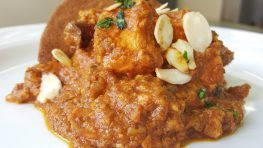 pollo alle mandorle india style 3