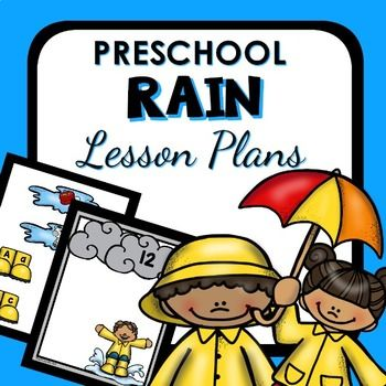 Rain Theme Preschool Lesson Plans – Rain Activities