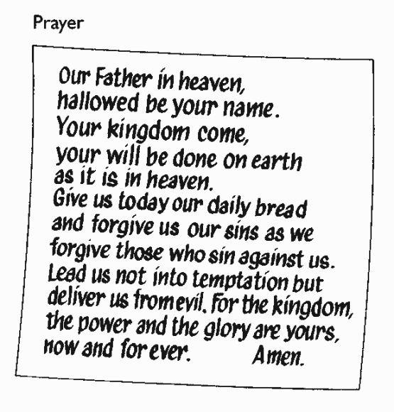 7 best Gospel Lord 39 s Prayer images on Pinterest Sunday