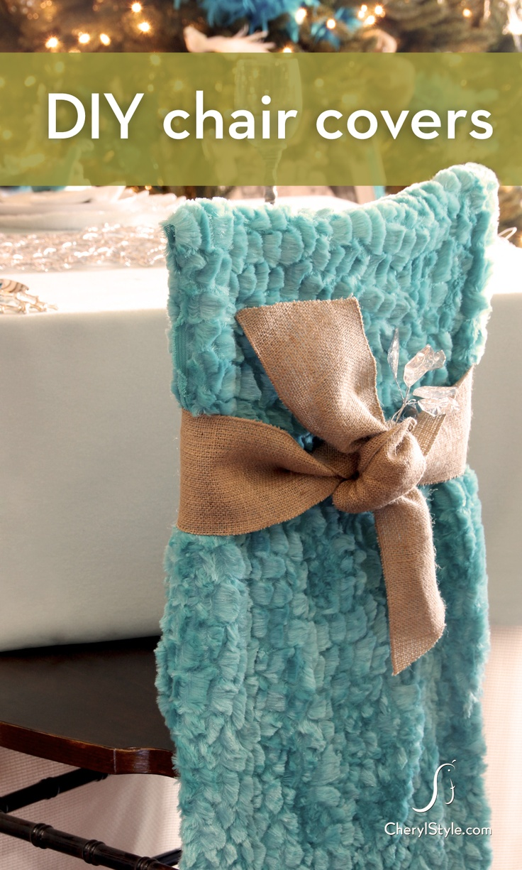 Change Your Look This Holiday With A Simple And Inexpensive Diy Chair Covers Makeover