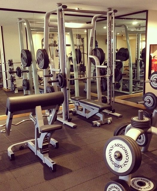 Get your workout in at the Club Olympus Spa & Fitness center at Hyatt Regency Dubai.