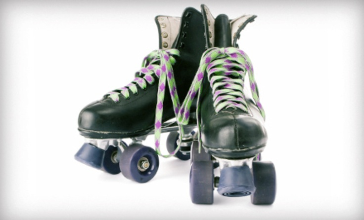 Groupon - Roller Skating with Rentals for Two, Four, or Six at Hot Wheels Skate Center (Up to 64% Off)