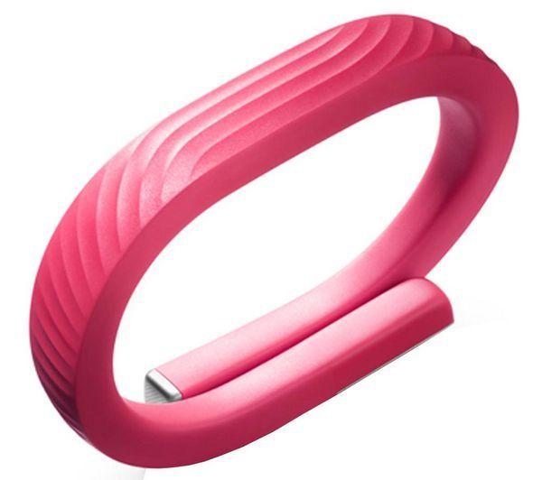JAWBONE UP24 - rosa - taglia M - Bracciale connesso per tracking attività per iOS e Android   Il Jawbone UP24 è un braccialetto che monitora le tue attività migliorando la tua vita quotidiana.Unico nel suo genere per le tecnologie e il design impiegati, l'UP24 è potente e flessibile per adatt…