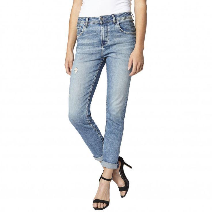 Jeans comfort fit high waist (denim): PEPE JEANS (120€)