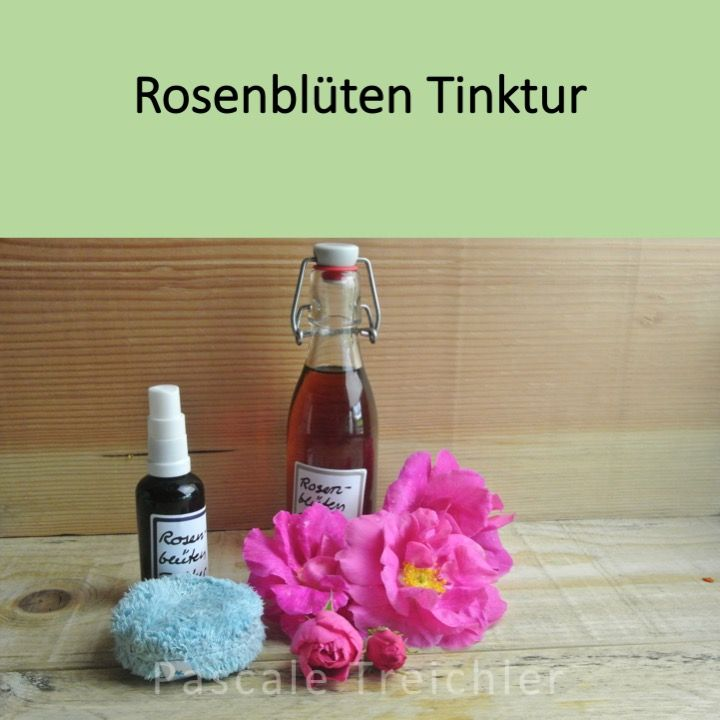 Rosenbluten Tinktur Tinktur Gesichtsreinigung Und Desinfektion