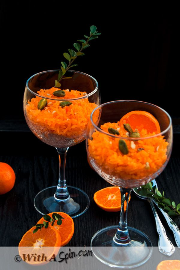 Zarda Pulao Recipe - A wedding dessert recipe perfect for Valentine's Day  With A Spin  #recipe #rice #photography