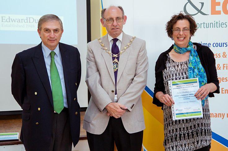 Julie Strelley-Jones award was for overcoming adversity