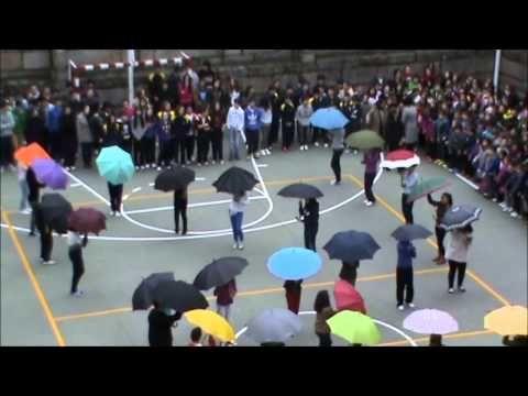 MACACO - Una sola Voz Día de la PAZ Colegio Santo Angel de Ourense - YouTube