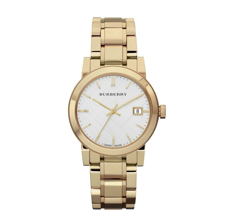 BURBERRY GOLD TONE THE CITY WOMEN'S WATCH - Watch Direct