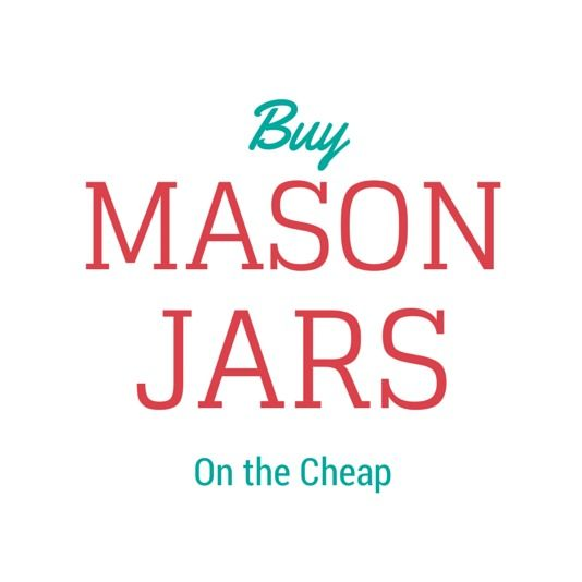 Wondering where to buy Mason Jars in bulk & for cheap? I'm sharing with you where to buy Mason Jars at the best prices so you'll get the best deal!