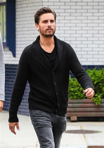 """""""LOVE THIS GUY"""" Scott Disick was spotted out and about with a friend in New York City on May 28, 2014."""