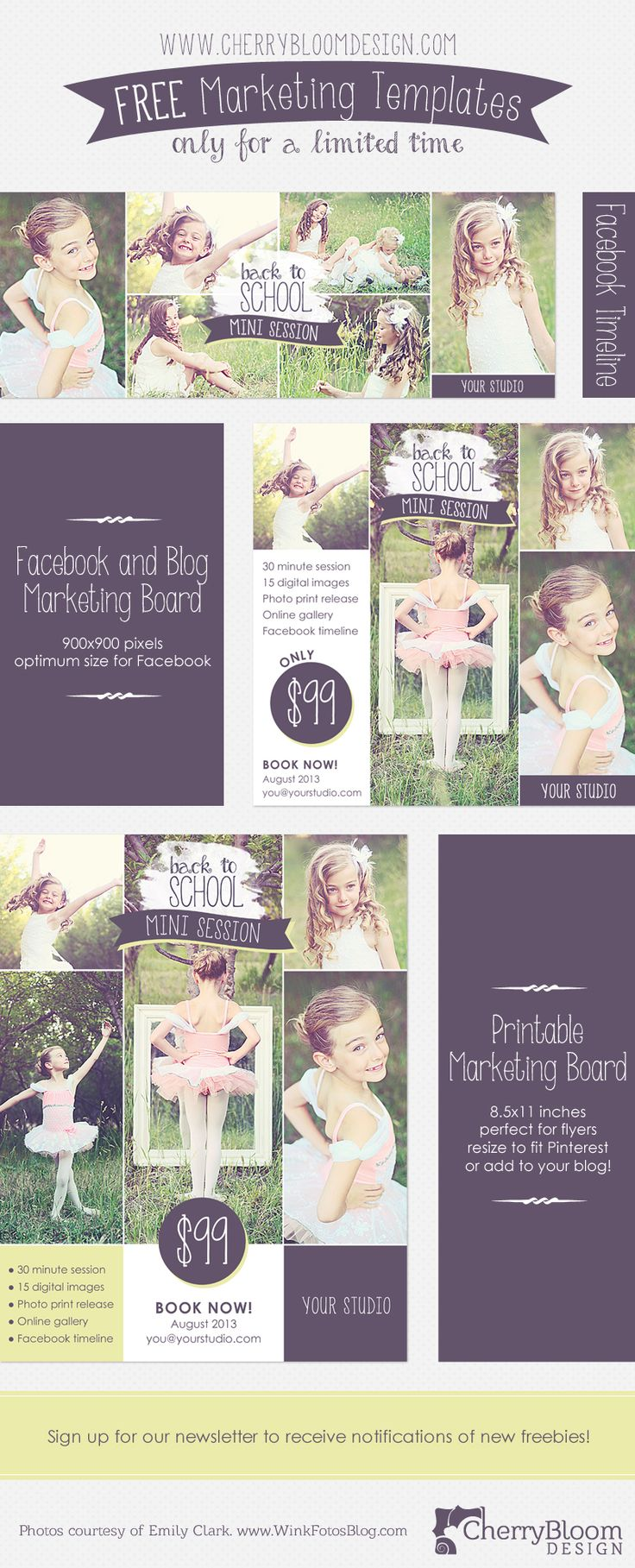 best ideas about templates for flyers bake 3 fabulous templates for photographers facebook timeline blog board facebook image and printable flyer for a limited time only learn more here