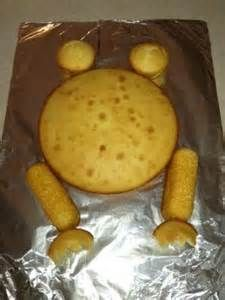 Cut Out Frog Cake