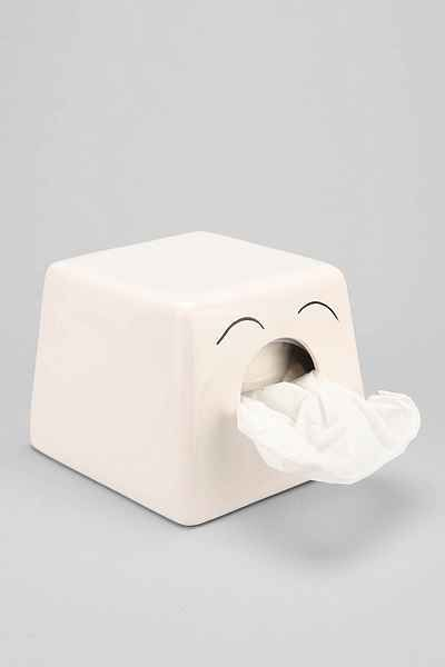Sweet Scandinavian Tissue Box Holder - Urban Outfitters. So cute.