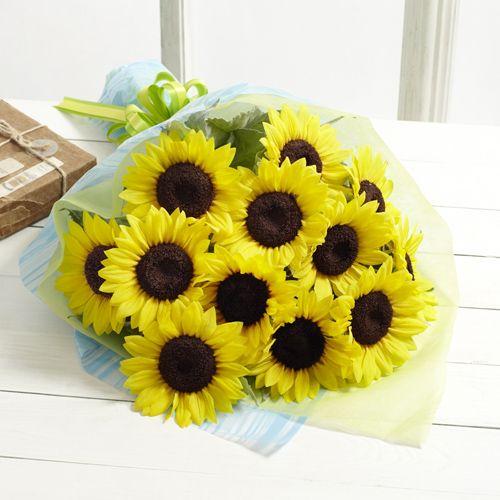父の日 花束「太陽の贈りもの」12本