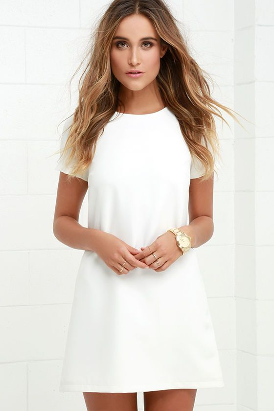 78  ideas about Short White Dresses on Pinterest  8th grade ...