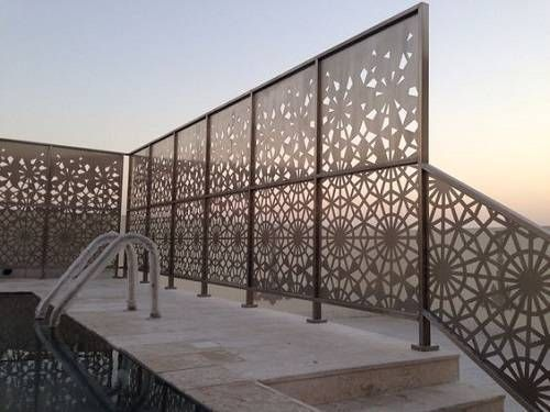15 Most Beautiful Steel Fence Panels Residential Ideas