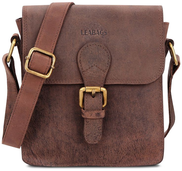 LEABAGS Largo genuine buffalo leather messenger bag in vintage style >>> Continue to the product at the image link. (This is an Amazon Affiliate link and I receive a commission for the sales)