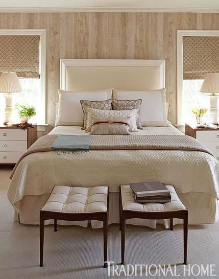17 best images about creative ways to use faux wood for Neutral bedroom wallpaper