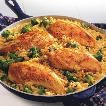 15-Minute Chicken and Rice Dinner