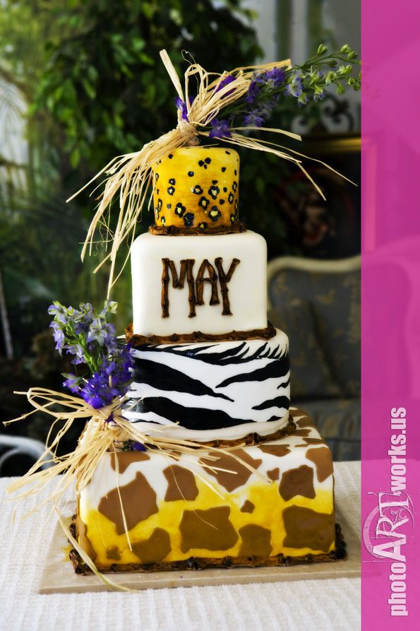 327 Best Images About Animal Print Cakes Amp And African