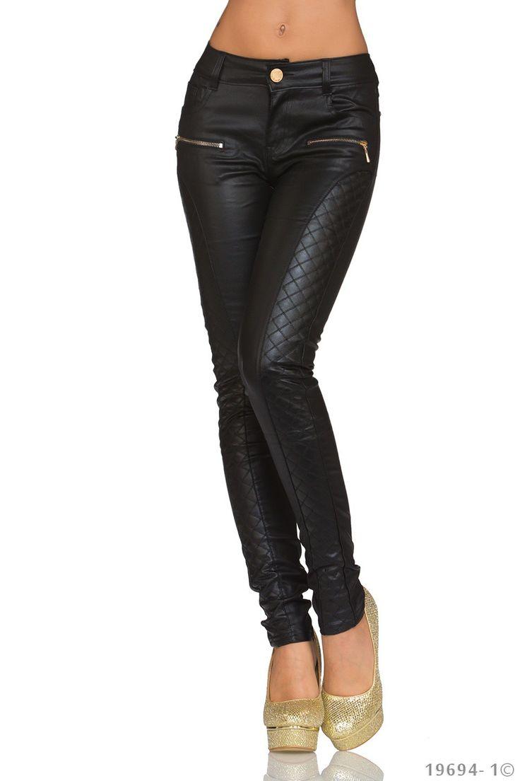 Pantaloni Jess Black | New Fashion Romania  >> Click pe poza pentru a vedea pretul. #PantaloniDama