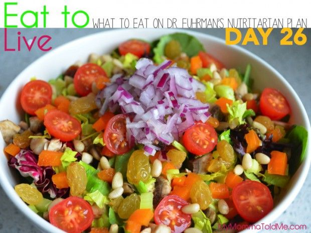 Eat to Live: What I Ate on Day 26 | Eat To Live | Eat to ...