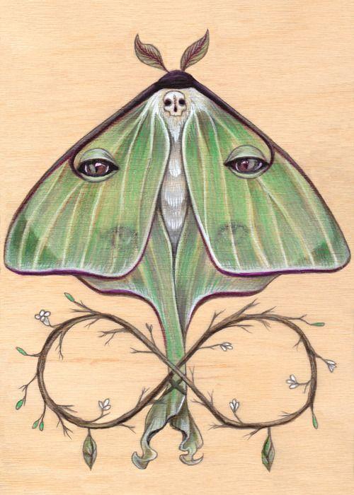 The Wooden Tarot deck, by Amy Swartz