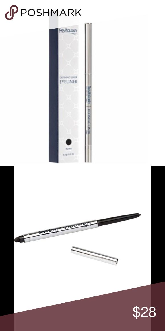 Pre-orders Defining Eye liner in deep java. This richly pigmenting, long-wearI eyeliner saturates eyelash line with high impact stay-true color while conditioning skin for smooth, gentle application without skipping, pulling or tugging. List your name below & I will tag you when it comes in. Revitalash Makeup Eyeliner