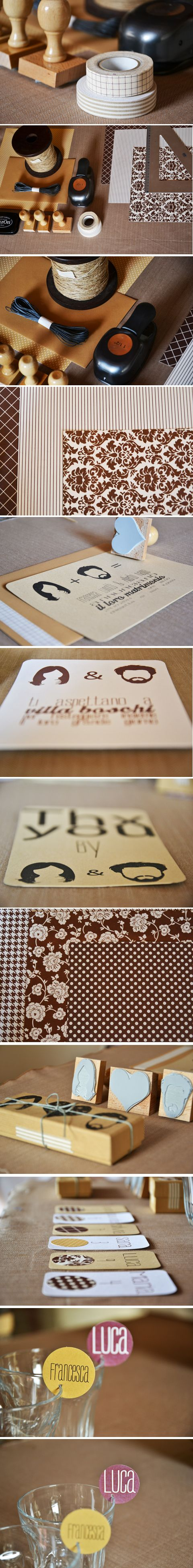 Silvia Lana | Iciban - Italy - Wedding stationery, Craft