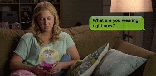 Amy Schumer's guide to sexting.