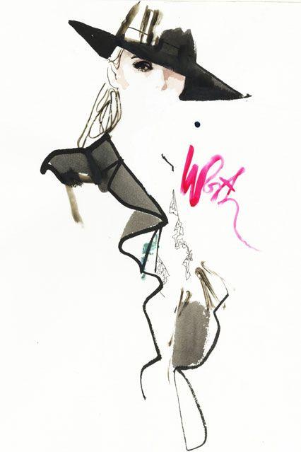Paris Couture by David Downton