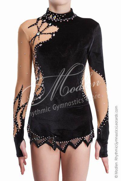 Leotard 152: Rhythmic Gymnastics Leotard Ice Figure от Modlen