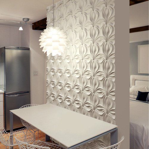 Adding Architectural Interest: Removable Wall Panels Renters Solutions | Apartment Therapy