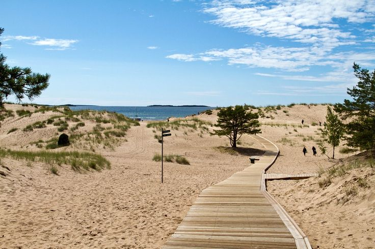 Yyteri beach, Pori Finland. So beautifull.
