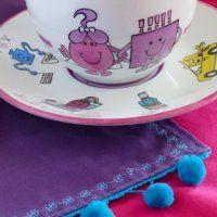 Tasse déjeuner en duo de porcelaine pour un déjeuner amoureux - Marie Claire Idées