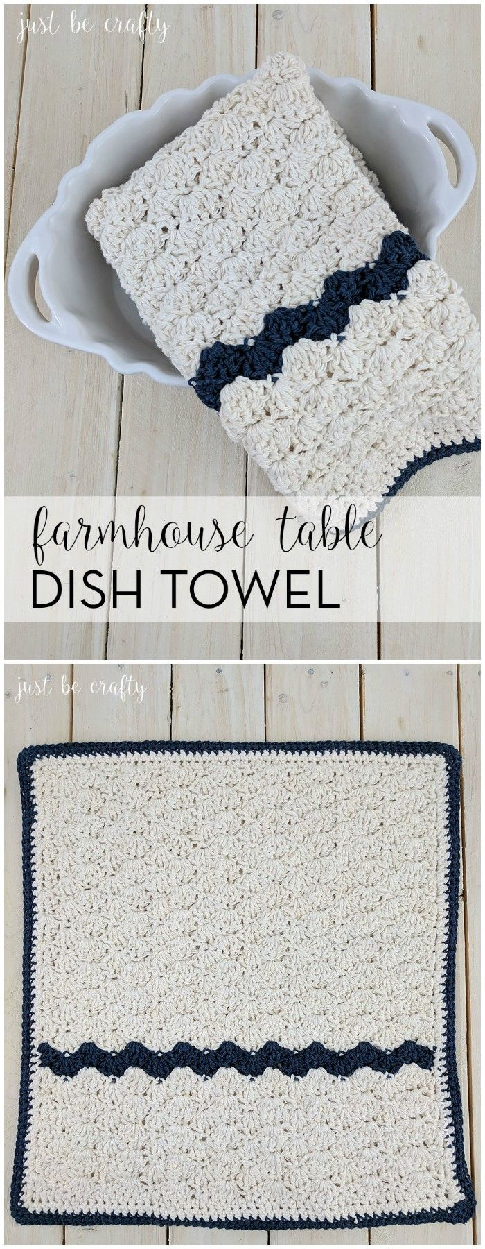 I have rounded up some of the best and interesting free  #Crochet #Dishcloth patterns for your home.Crochet Farmhouse Table Dish Towel Pattern