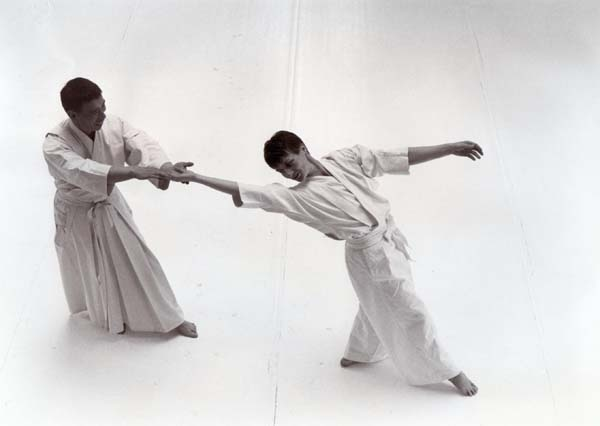 Kinomichi with Noro Sensei.