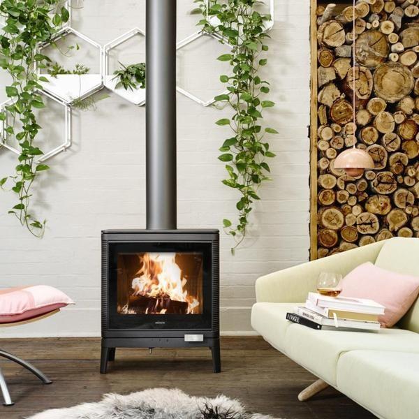 Pin By Xiaoling Huang On Gooch Street Renovation Modern Fireplace Freestanding Fireplace Fireplace Design