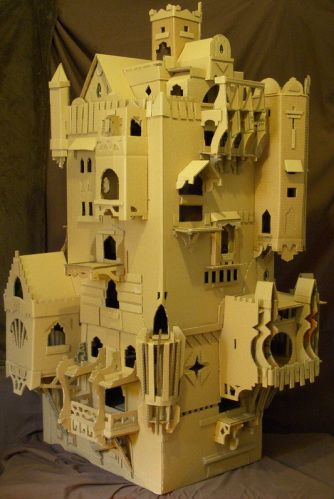 Original, Beautiful and Functional Castles for your Rats,Ferrets, Mice, Gerbils, Cats, Dogs