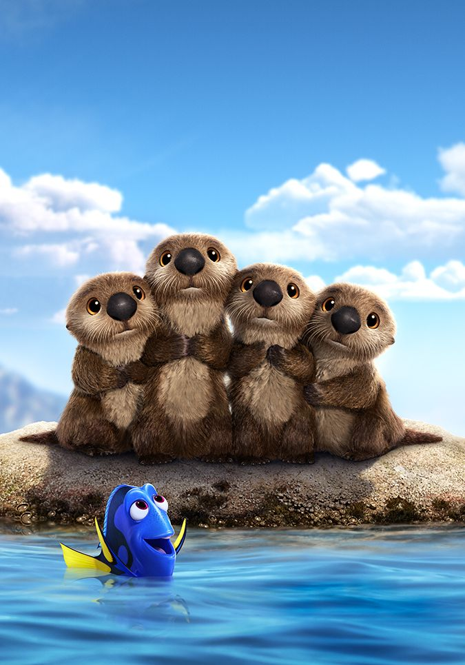 Finding Dory: Otters