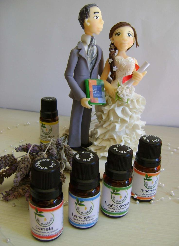 Identidade Olfativa de um casamento- sinergia de Óleos Essenciais.