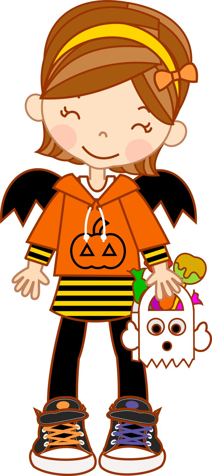thank you clipart halloween